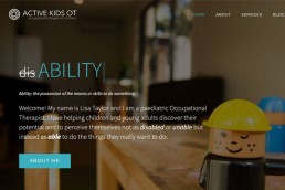 Active Kids OT Homepage