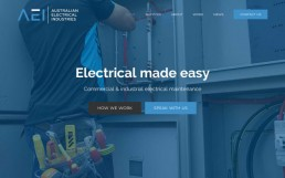 Australian Electrical Industries Homepage