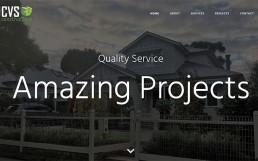 CVS Constructions Homepage