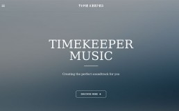 Timekeeper Music Homepage